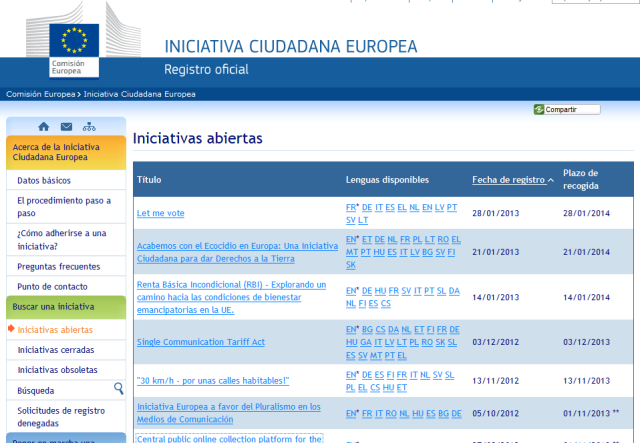IniciativaCiudadanaEuropea